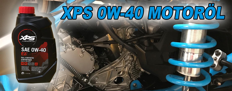 0W-40 XPS Motoröl Can Am